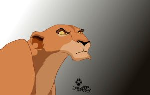 Zira from the lion king by coolwolfbro