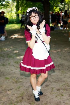 Maid/Lolita Outfits High Park 2015 #05 by Lightning--Baron