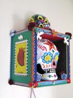Sugar Skull Display View 3 by johannachambers