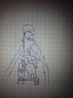 First Attempt At Drawing Ferb by AlaskahAndDaMunks