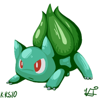 Bulbasaur by Aruesso