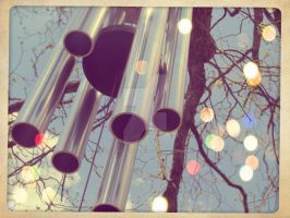 whimsical windchime by x--photographygirl