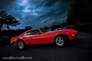 red Firebird. by AmericanMuscle