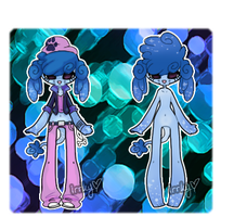 Icey Poodle Adopt! [open!] by IrrkyAdopts