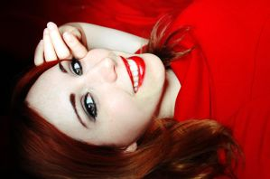 As red as it can get by Stephanie-van-Rijn