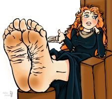Merida's Soles by Solesartist