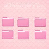 Pack Folders Rosadillas by LuuCreativeColors