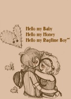 Hello My Ragtime Boy by Ask-MusicPrincess3rd