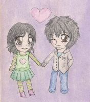 CP: Aumi and Masum by VickyThld
