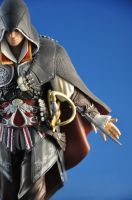 Black Edition Ezio Statue II by Rip-Stick-Racer
