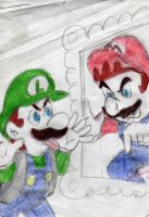 luigi me out of here by wildo123