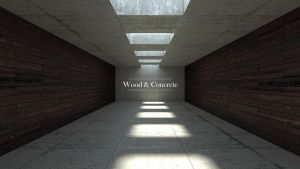 WoodAndConcreteWallpaper by Zuggamasta