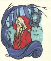 Little Red Riding Hood by LilyScribbles