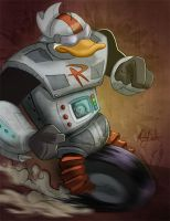 June 26 - Gizmoduck by KileyBeecher