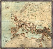 Europe in 200 A.D. by JaySimons