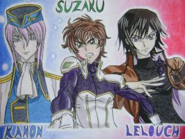 Code Geass Hotties by MattJeevasLover