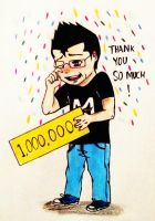 1,000,000 Subcribers! by irukaluvsdumplings