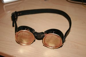 Steampunk goggles by Paul-Nasca