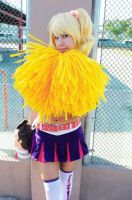 Sweet cheerleader by MelodyZombie