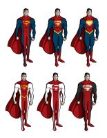 Superman costume redesign by tobygerber