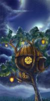 Treehouse by Malenloth