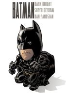 super deform batman by urban-barbarian