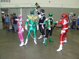 Otakon 2013 - Power Rangers by mugiwaraJM