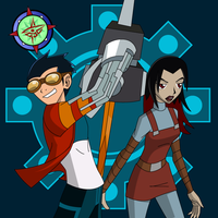 Generator Rex + Circe by Dragon-FangX