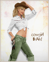 Colorize Cowgirl by Owlnuny