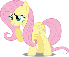 Vector #423 - Fluttershy #25 by DashieSparkle