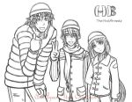 The Halfbreeds Beanie Crew by Azeen