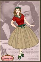 APH: 1950'S style Fem South Italy by mandababe12