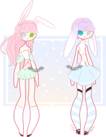 Bunny Sisters | OPEN | ADOPTS by Scarmmetry