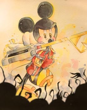 Kingdom Hearts - King Mickey by nula18