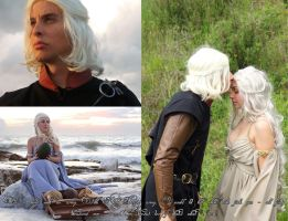Viserys and Dany by ElettraNoah