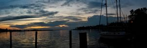 Panoramic Sunrise 1 by SeeMooreDesigns