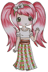 Hippie Apple  by Bee-chii