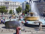 The Hippos of Trafalgar Square by Hashassin