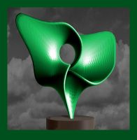 10-09-14 Small sculpture in green  by bjman