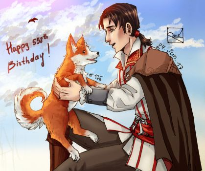 Ezio's B-day by Rina-from-Shire