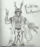 Mutation Baphomet (WIP) by Dysfunctional-H0rr0r