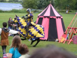 Jousting - Knight 05 by Axy-stock