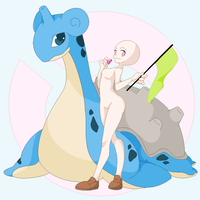 Base 14 Lapras Love by o0Ronnie-Rothwell0o