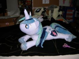 Shining Armor beanie commission by Bladespark