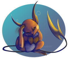 Pokemon - Raichu by ZaidaCrescent