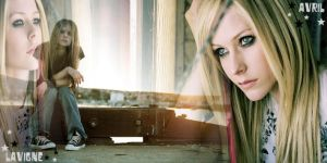 Avril Lavigne blend THE TIME by LETys09