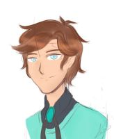 Dipper Gleeful colored sketch by TurquoiseGirl35