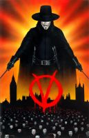 V for Vendetta by angrywhitewanker