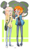 Geeks by Psychocolour