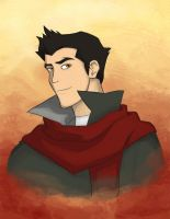 Mako from the Legend of Korra by starwolf94